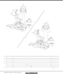 Shimano Deore M590 Front Derailleur User Manual