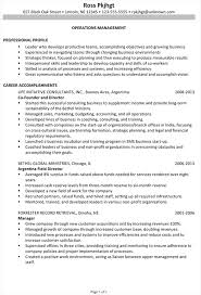 resume sample for operations management pg1 operations resume examples