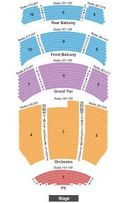 Durham Performing Arts Center Seating Chart Durham