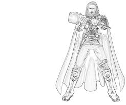Small Picture Marvel thor coloring pages ColoringStar