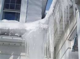 Image result for ice dams on roof