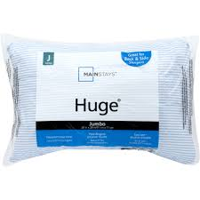 Mainstays 100% Cotton Extra-Firm Pillow Set of 2 in Multiple Sizes ...