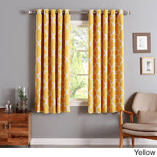 Coral Patterned Curtains Simple Decorating Ideas