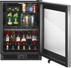 Under Counter Beverage Centers Whirlpool Wub50x24em 24 Inch Undercounter Beverage Center With