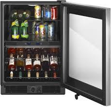 Undercounter Drink Refrigerator Whirlpool Wub50x24em 24 Inch Undercounter Beverage Center With