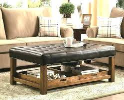 coffee table or ottoman coffee table for sectional flip top ottoman full size of table or