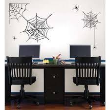 spider web large wall art kit