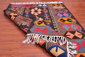turkish area kilim rug wool kilim rug