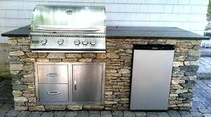 unique modular island for attractive prefab outdoor kitchen grill islands elegant marvelous bbq prefabricated kits out