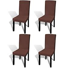Tidyard <b>Straight</b> Stretchable <b>Chair</b> Cover Soft and Wrinkle-Resistant ...