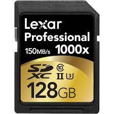 Thẻ nhớ máy ảnh cao cấp Lexar Pro 1000x 128GB SDXC UHS-II - Hitech USA