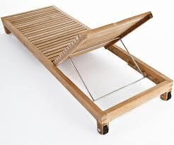 Liegestuhl Holz M Belideen