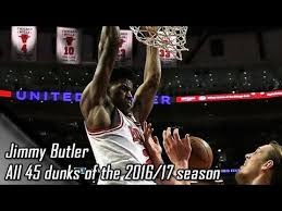 jimmy butler dunk. Brilliant Dunk Jimmy Butler All 45 Dunks Of The 201617 Season Throughout Dunk N