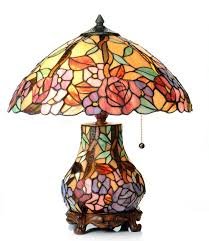 small stained glass lamp patterns designs