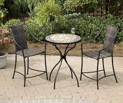 round patio. Bistro Patio Table And Chairs Beautiful Small Round Furniture Ideas