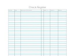 Free Check Register Template Medium Size Large For Numbers Checkbook