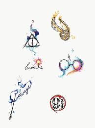 Pin Uživatele Teris Kubíčková Na Nástěnce Hp Tetování Harry Potter