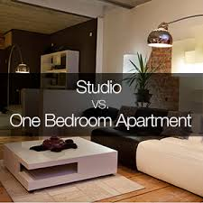 One-Bedroom Apartment. modern living room couch sofa lamp design interior