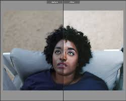 employ the highlights slider in adobe photo lightroom cc or curves adjustments in photo cc to create soft contrast across darker skin