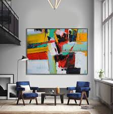 handmade extra large contemporary painting huge abstract canvas art original artwork hand paint