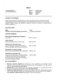 Sample Hr Generalist Resume Hr Generalist Resume Template Sample India Good Fresher Format 32