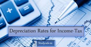 Company Depreciation Rates Chart 2017 18 Rates Of Depreciation For Income Tax For Ay 19 20 Or Fy 18 19