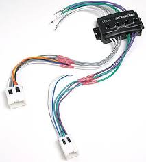 guide to car stereo wiring harnesses scosche cnn03 wiring harness factory amplifier integration harnesses can include gain