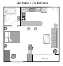 Small Studio Apartment Floor Cool Tiny Apartment Floor Plans