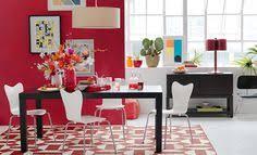 i love the west elm colorful modern dining room on westelm