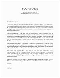 Cover Letter Examples For Resume Cover Letter Example For Resume