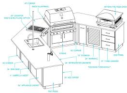 kalamazoo outdoor gourmet kitchen designs plans reviews