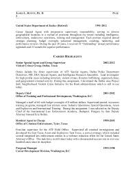 Recovery Agent Sample Resume Magnificent Fbi Resume Examples Kenicandlecomfortzone