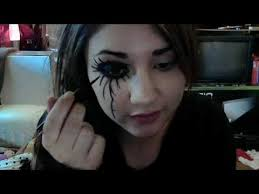 andy si black veil brides inspired makeup tutorial