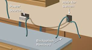 Under cabinet lighting switch Ikea Cut Hole Undercabinet Lighting The Home Depot Installing Undercabinet Lighting The Home Depot