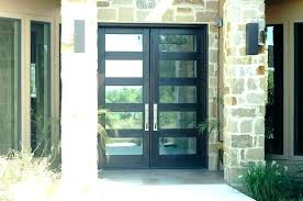double wood entry doors with sidelights art glass modern exterior contemporary exterior doors contemporary entry door