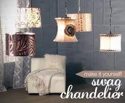 diy chandelier project