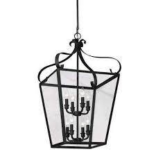 lantern pendant lighting. lockheart 8light blacksmith hallfoyer pendant lantern lighting