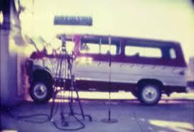 1979 Chevy C20 Beauville Sportvan   Frontal Crash Test by NHTSA ...