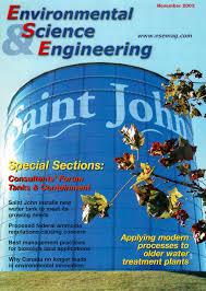 Environmental Science Engineering Magazine Esemag