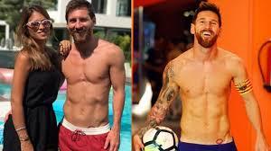 Fotbalista Messi Si Nechal ústa Své ženy Vytetovat Těsně Nad Slabiny