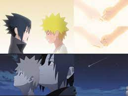 Sasuke and Naruto as kids. Naruto Shippuden OVA