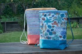 Drawstring Backpack Pattern