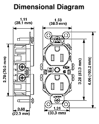 wiring diagram for duplex receptacle the wiring diagram duplex outlet wiring diagram nilza wiring diagram