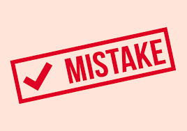 9 synonyms to use if you messed up