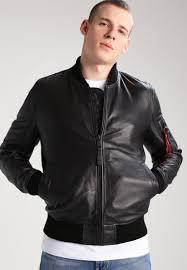 alpha industries leather jacket black men clothing jackets lightweight alpha industries m65 alpha industries slim er popular s