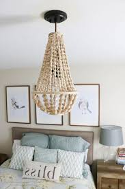 photo 6 of 8 come learn how to make your own wood bead chandelier with this awesome tutorial diy