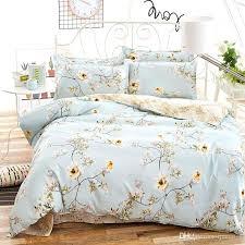 light blue duvet cover light blue color spring style twin full queen king size bedding set light blue duvet cover