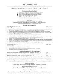 Hospitality Cover Letter Cover Letter Database