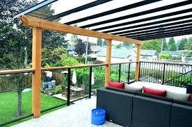 S Diy Deck Canopy Ideas Awning Covers For Decks  Wood