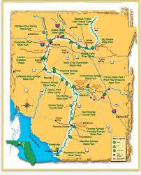 Suwannee River Mileage Trip Agenda Ideas Florida Trail